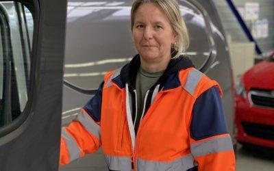 Portrait de Cathy, responsable de l'activité Véhicule Neuf sur le site GEFCO